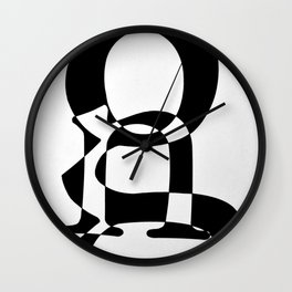 Love of Type Wall Clock