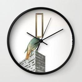 schraeger Vogel · CityBird Wall Clock
