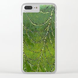 Spiders Web Clear iPhone Case