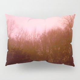 Pink Trees Pillow Sham