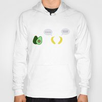 pun Hoodies featuring Fruit Pun by Tom Cronin