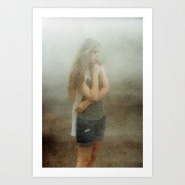Iceland - Mother Earth speaks to you (Leica M3 & Kodak film) Art Print