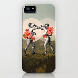 Foes before hoes. iPhone Case