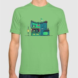 Cyberpunk Tea Shack T-shirt
