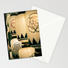 Japanese Festival Laterns in Gion, Kyoto II Stationery Cards