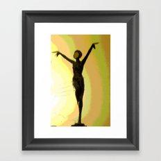 Deco Dance Framed Art Print