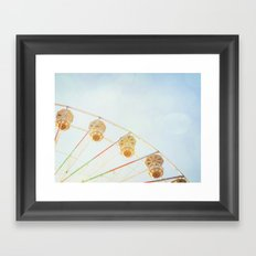 Ferris Wheel II Framed Art Print