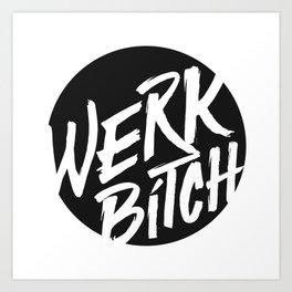 WERK Art Print