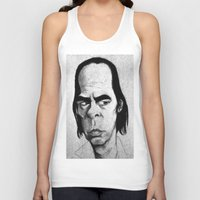 nick cave Tank Tops featuring Nick Cave by Mr Shins