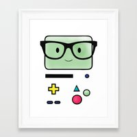 bmo Framed Art Prints featuring BMO  by Diore-Château
