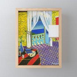 Fin Framed Mini Art Print