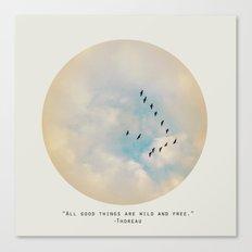 All Good Things (Birds) Canvas Print