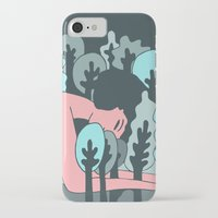 forrest iPhone & iPod Cases featuring forrest by Regina Rivas Bigordá