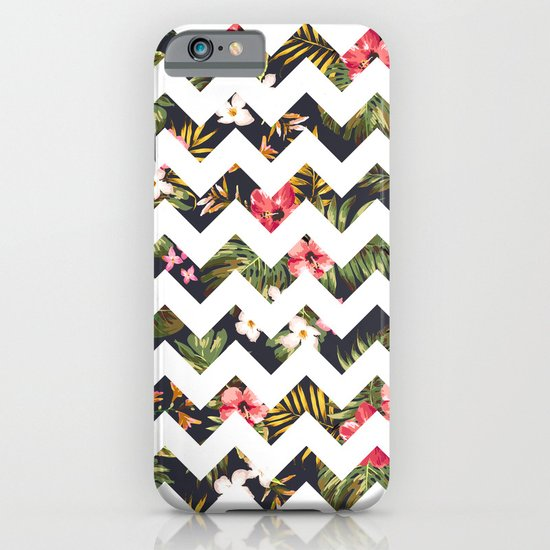Floral Chevron iPhone & iPod Case
