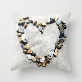 Heart Portal Throw Pillow