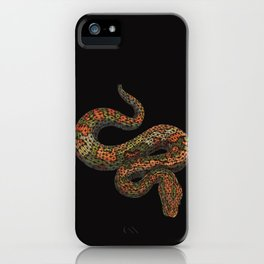 Snarly Snake iPhone Case