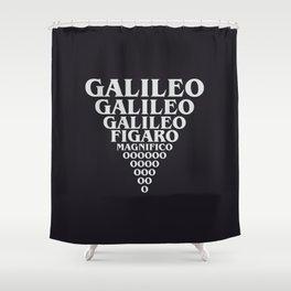 A Queen's lyrics Shower Curtain