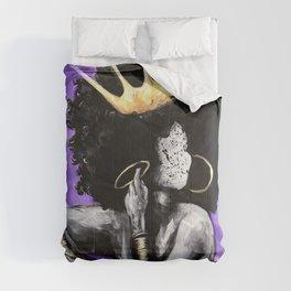 Naturally Queen VI PURPLE Comforters