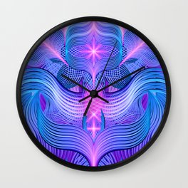 Dreaming Frequency Temple Wall Clock