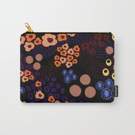 Woodsy Blooms Carry-All Pouch
