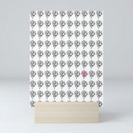 Shell Pink Mini Art Print