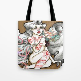 Tumultuous Tote Bag
