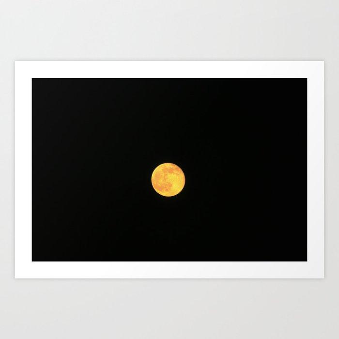 Honey Moon Art Print