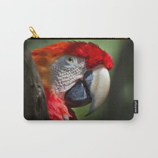 Scarlet Macaw Carry-All Pouch
