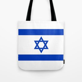 Israel Flag - High Quality image Tote Bag
