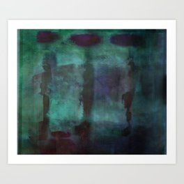 Abstract - Silhouette Art Print