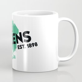 Queens NYC - Green Coffee Mug