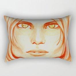 I Create Myself Rectangular Pillow