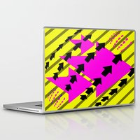 arrows Laptop & iPad Skins featuring ARROWS by Latidra Washington
