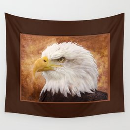 Bald Eagle Portrait Wall Tapestry