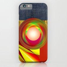 FUNKY VINTAGE AUDIOTAPE iPhone 6s Slim Case
