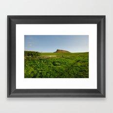 Roseberry Topping Framed Art Print