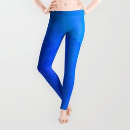 DARK BLUE WATERCOLOR BACKGROUND  Leggings