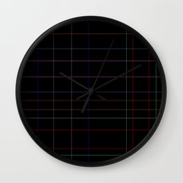 The Grid Wall Clock