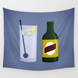 Gin & Tonic Wall Tapestry