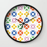 matisse Wall Clocks featuring 13. Matisse by Chris Day