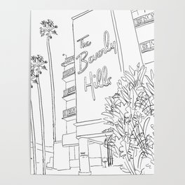 The Beverly Hills Hotel Poster