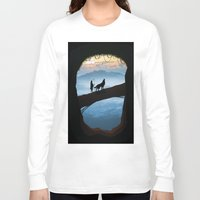 hunter Long Sleeve T-shirts featuring Hunter by Tony Vazquez