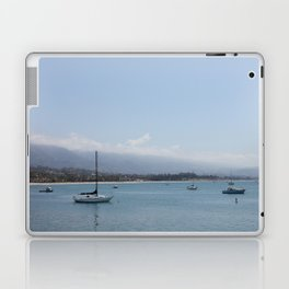 Off the Coast of the Habour Laptop & iPad Skin