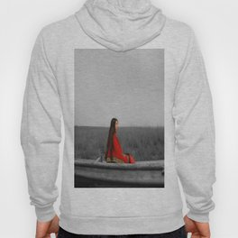 Accent in red Hoody