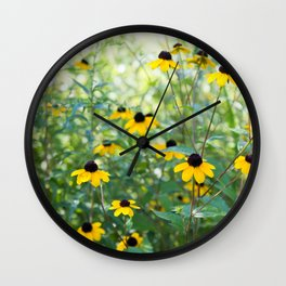 August Mornings Wall Clock