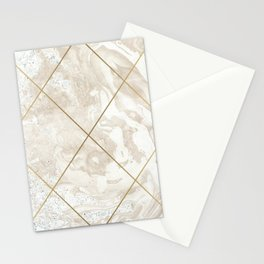 Gold & Marble 01 Stationery Cards