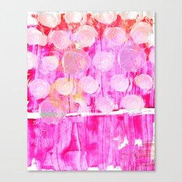 Luminosity of cerise Canvas Print