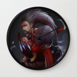 Blood Moon Diana Wall Clock