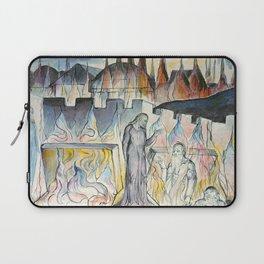 "William Blake ""Dante Conversing with Farinata Degli Uberti"" Laptop Sleeve"
