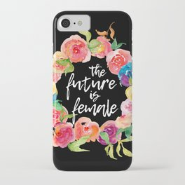 The Future is Female iPhone Case